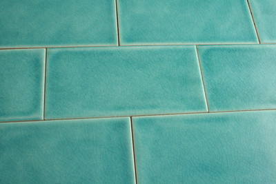 aqua craquelle wall tile 75x150mm
