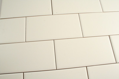 150x75mm white non rectified wall tile