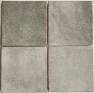 Ash Gloss Wall Tile 132mm