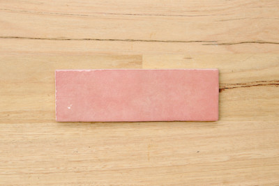 Onda Rose 200x65mm Gloss Subway Tile