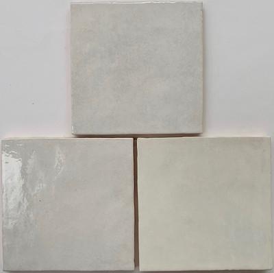 Onda White Handmade Style Gloss Wall Tile