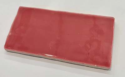 Hot Pink Subway Tile 150x75mm