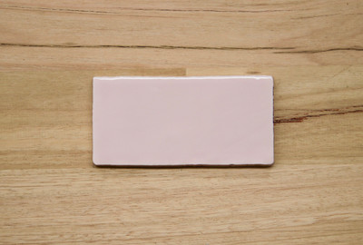 Soft Pink Gloss Subway Tile