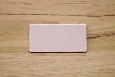 Soft Pink Gloss Subway Tile