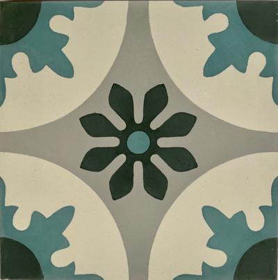 Seville Encaustic Cement Tile - 1 tile