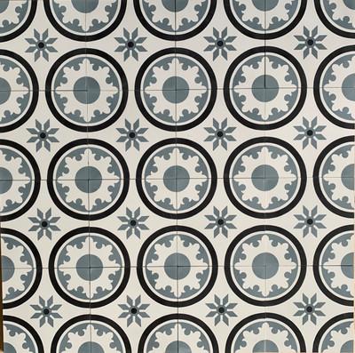Cordoba Encaustic Cement Tile - 16 tiles