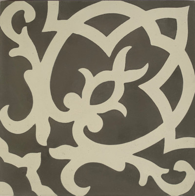 Turin Encaustic Cement Tile - 1 tile