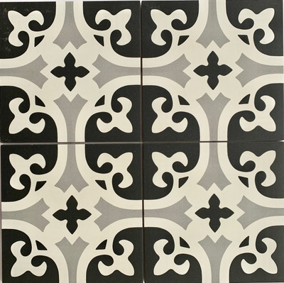Fleur Wall and Floor Tile 205mm