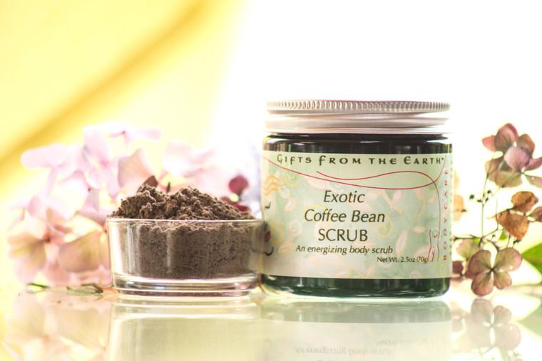 Exotic Coffee Bean Scrub