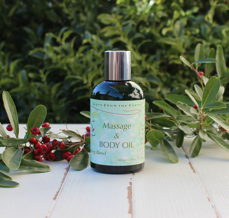 A blend of oils provide a suitable carrier for essential oils all while creating a great glide.