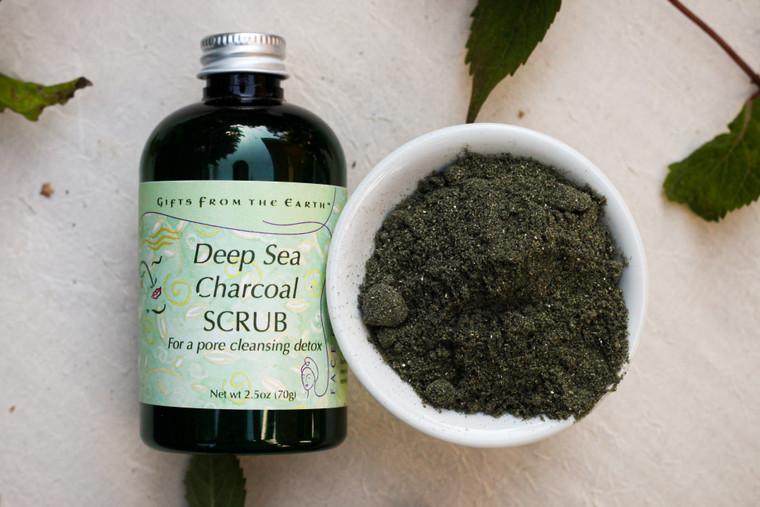 Deep Sea Charcoal Scrub