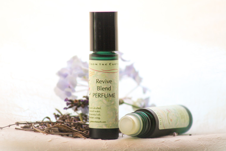 Revive Perfume - An essential oil blend with a grapefruit overtone.