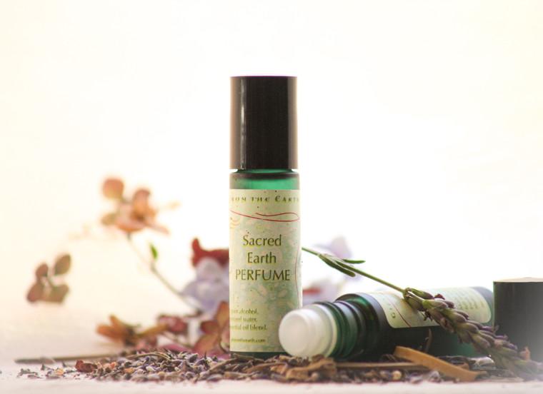 Sacred Earth Perfume,  a grounding perfume.