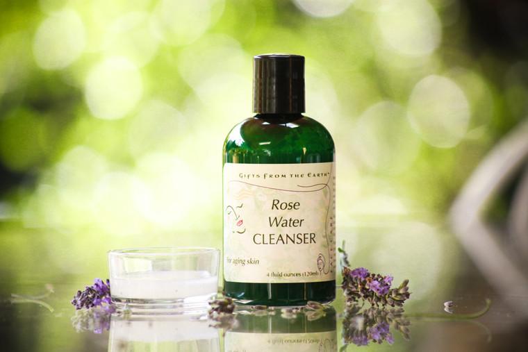 Rose Water Skin Cleanser