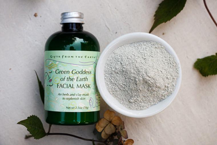 Green Goddess of the Earth Facial Mask