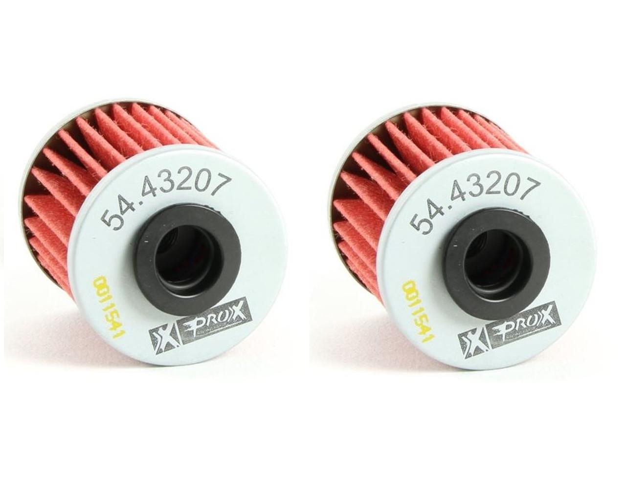 suzuki rmz250 2004-2019 oil filters 2 pack prox parts