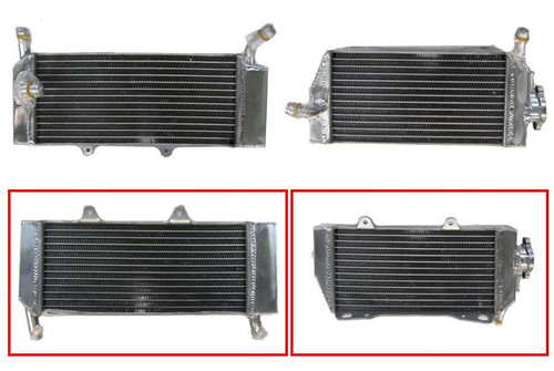 HONDA CRF450X 2005-2016 RADIATOR SET PSYCHIC MX PARTS