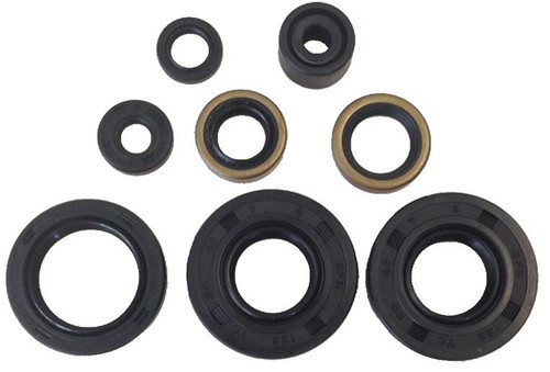 KAWASAKI KX65 2000-2019 ENGINE OIL SEALS KIT MXSP PARTS