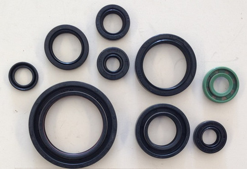 HONDA CRF450R 2009-2016 ENGINE OIL SEALS KIT REBUILD PARTS