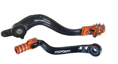 KTM 250 SX-F 2013-2015 GEAR SHIFT LEVER BRAKE PEDAL MX PARTS