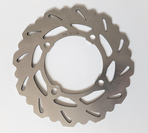 KAWASAKI KX85 2001-2019 REAR BRAKE DISC ROTOR MXSP PARTS