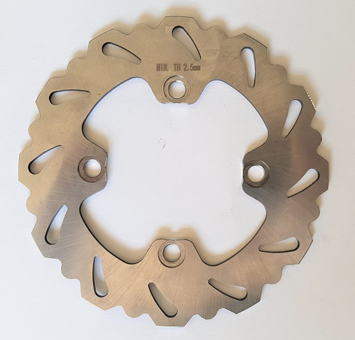 KAWASAKI KX65 2000-2021 REAR BRAKE DISC ROTOR MXSP PARTS