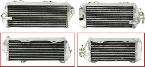 SUZUKI RMZ250 RADIATOR SETS PSYCHIC PARTS MX 2004-2012