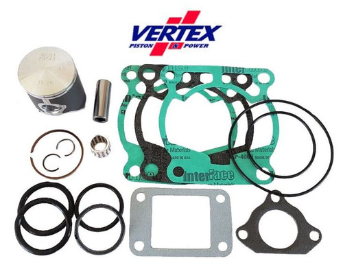 KTM50 SX 2009-2022 TOP END REBUILD PARTS KIT 2 VERTEX PISTON