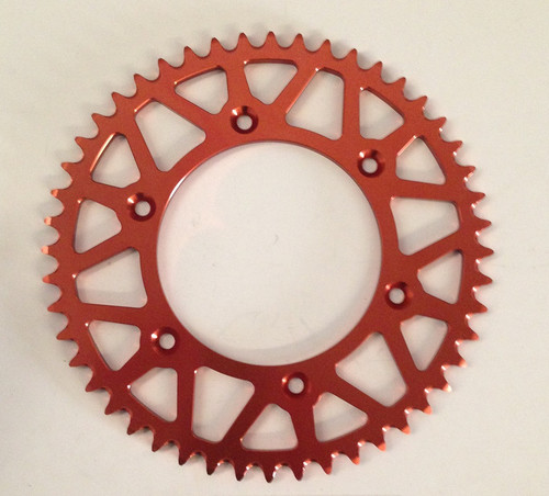 KTM 125 250 300 350 450 EXC SX SX-F REAR SPROCKET ORANGE 48T