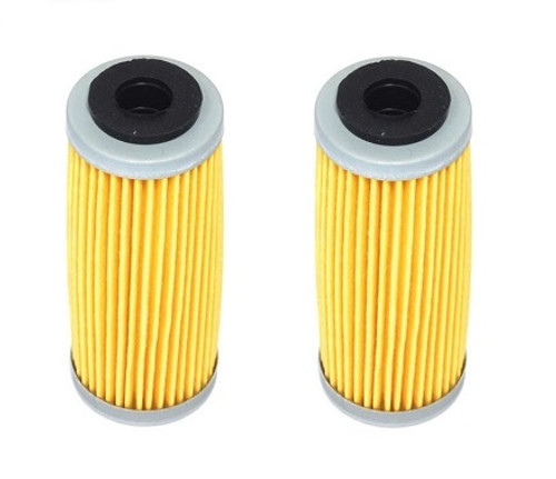 KTM 350 EXC-F 2012-2019 OIL FILTERS 2 PACK ENGINE PARTS ATHENA