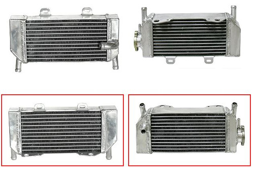HONDA CRF250X 2004-2016 RADIATOR SET PSYCHIC MX PARTS