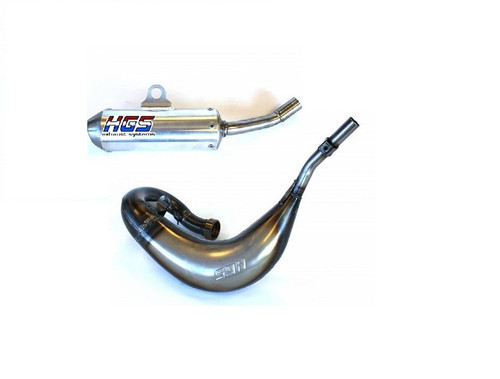 YAMAHA YZ65 2018-2021 EXHAUST PIPE & MUFFLER HGS SYSTEM