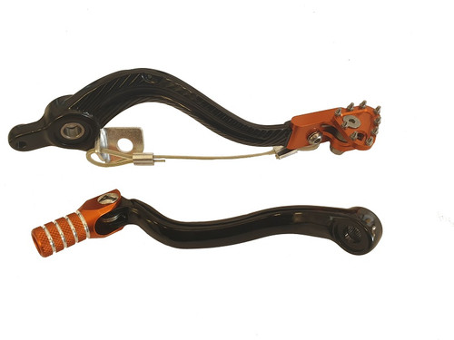 KTM 450 EXC 2008-2011 GEAR SHIFT LEVER BRAKE PEDAL SET
