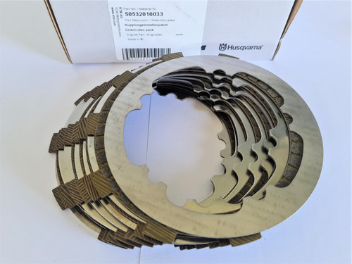 KTM 125 SX 2019-2021 OEM CLUTCH DISC PACK #50532010033