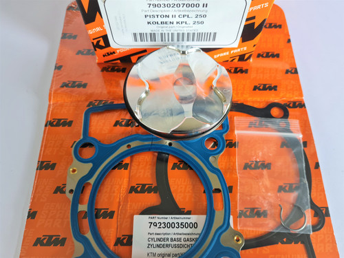 KTM 250 SX-F 2016-2021 OEM TOP END REBUILD KIT #00050000230