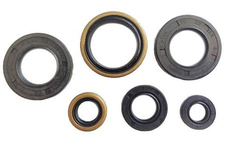 KTM 65 SX 1998-2008 ENGINE OIL SEALS KIT MXSP ENGINE PARTS