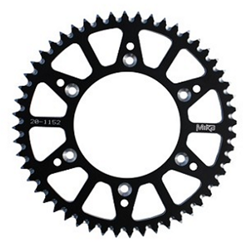 KAWASAKI KX85 REAR ALLOY SPROCKET 49 50 51 52 MIKA  2001-2018