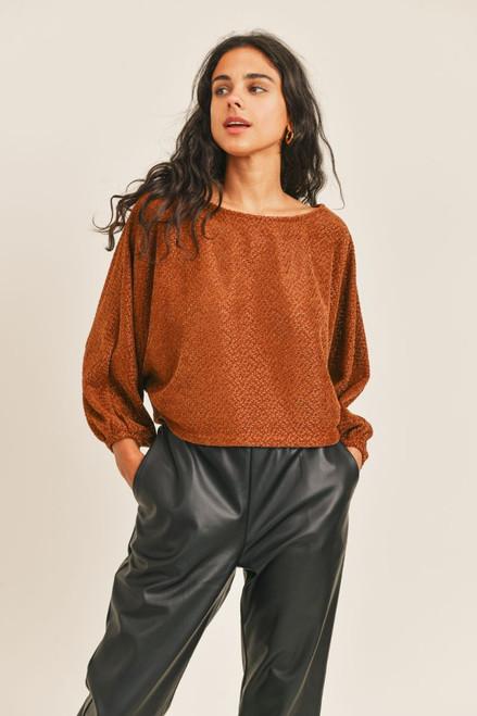 Holding on Dolman Sweater