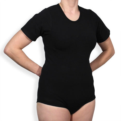 Fixation Bodysuit Black