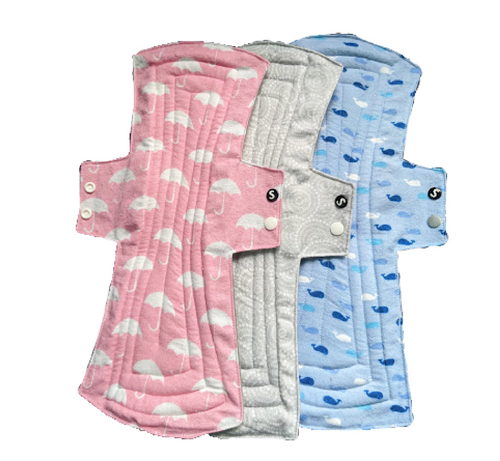 Washable Cloth Sanitary Pads - Super