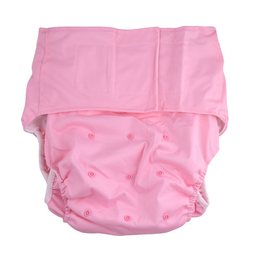 Adult Pocket Diaper - Pink
