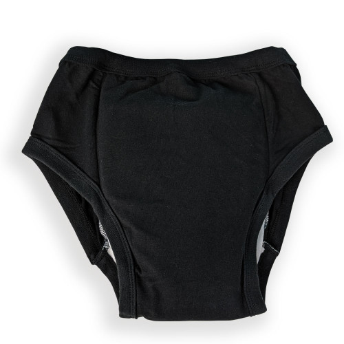 Protective Briefs for Adult Incontinence - Black