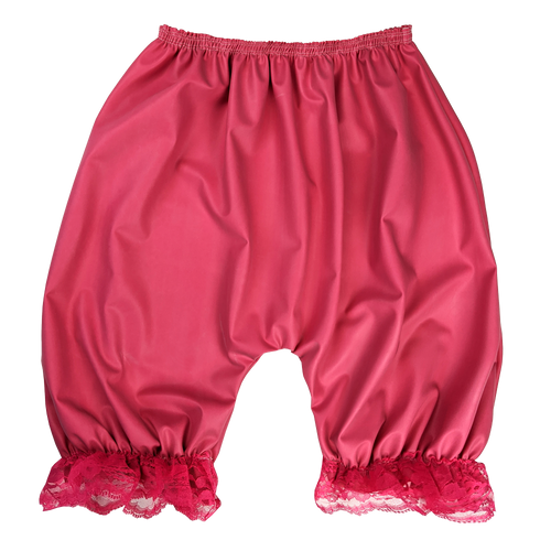 Rubber Incontinence Bloomers Gummihose with Lace