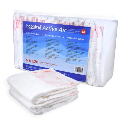 InControl Active Air Incontinence Briefs