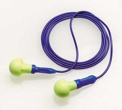3M Aearo E-A-R Push-Ins Ear Plugs. Corded. 28 dB. 200 pairs 318-1003