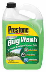 Prestone Windshield Washer, 1 gal. Size, Bottle 1 gal. Green   AS657