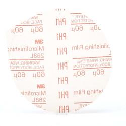 3M™ Microfinishing PSA Film Type D Disc 268L, 5 in x NH 60 Micron, 500 per case