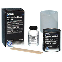 Devcon 15250 Black Flexane 94 Liquid, 1 lb., 16 oz.