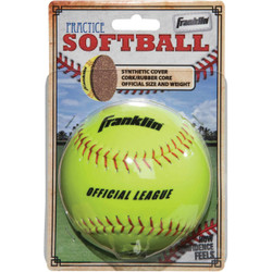 Franklin White Synthetic Softball 10981