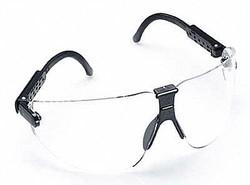 3M Lexa Protective Eyewear, 15200-00000-20 Clear Anti-Fog Lens, Black Temple, (Pack of 1)